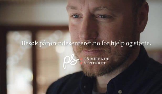 Pårørendesenterets første reklamefilm