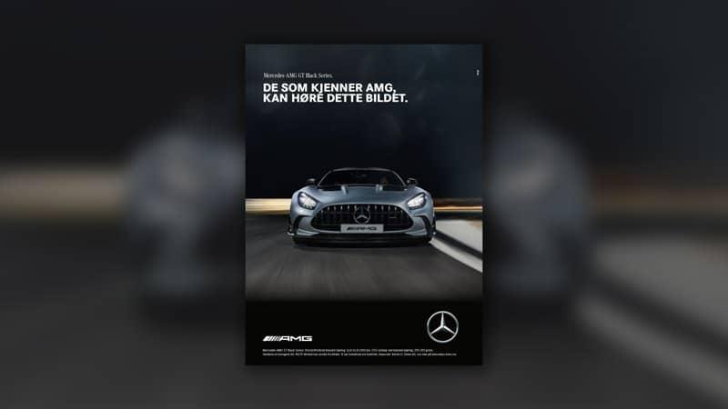 Lyden av en god annonse