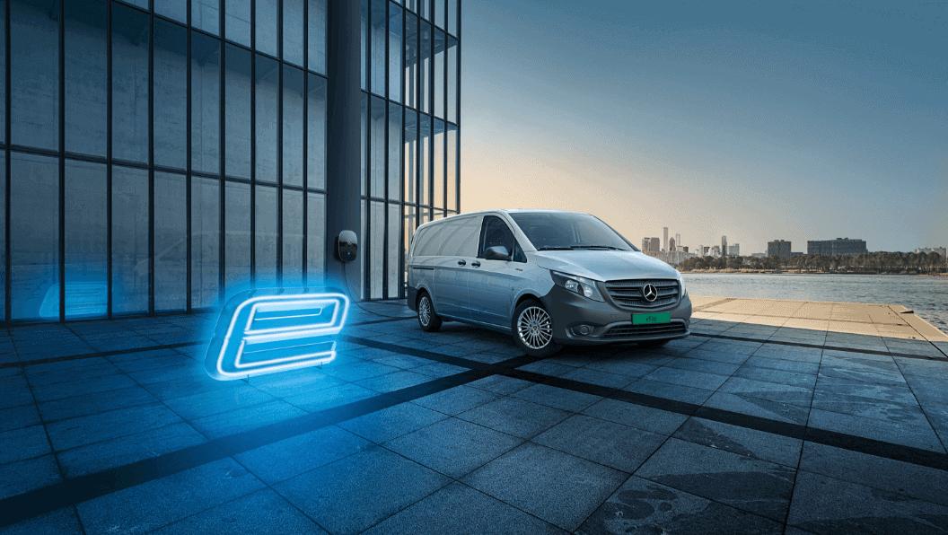 Lansering av den første elektriske varebilen fra Mercedes-Benz