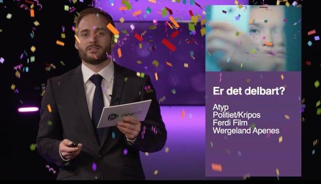 Jobben vår «Delbart?» for Kripos fikk Gull i ANFOs Max Marketing Mix!